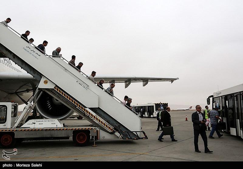 پایان عملیات حج تمتع فرودگاه اصفهان در سال 96