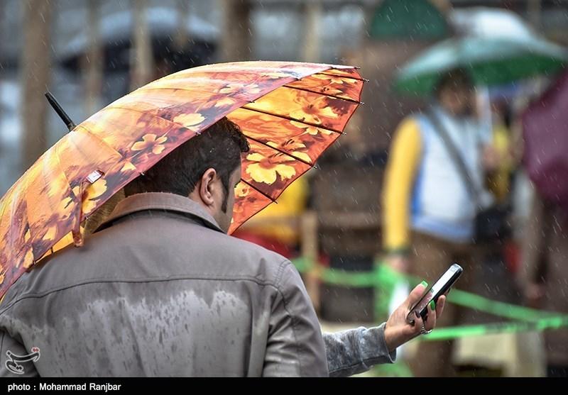 موج بارشی در راه است/باران پراکنده در غرب،شمال غرب و دامنههای البرز