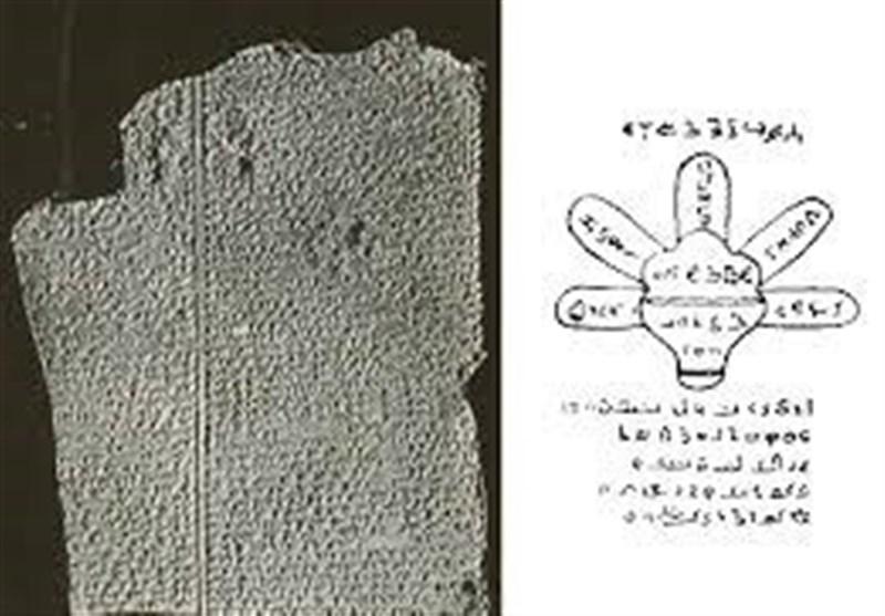 کتیبه نوح (ع) که روی آن نام «پنج تن آلعبا» است + عکس