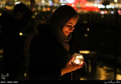 طهران تطفی أنوارها فی ساعة الأرض
