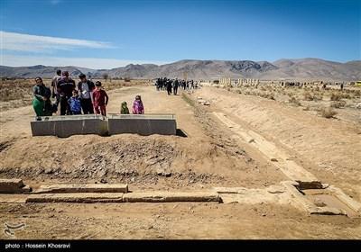 سیاح النوروز فی باسارکاد شیراز