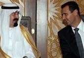 بشار اسد ملک عبدالله