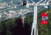 تکمیل مجتمع تجاری تله کابین نمک آبرود در انتظار آسانسورهای چینی