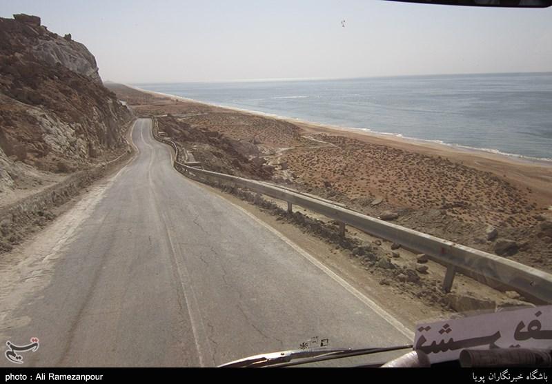 پاکترین ساحل ایران با شنهای طلایی + فیلم