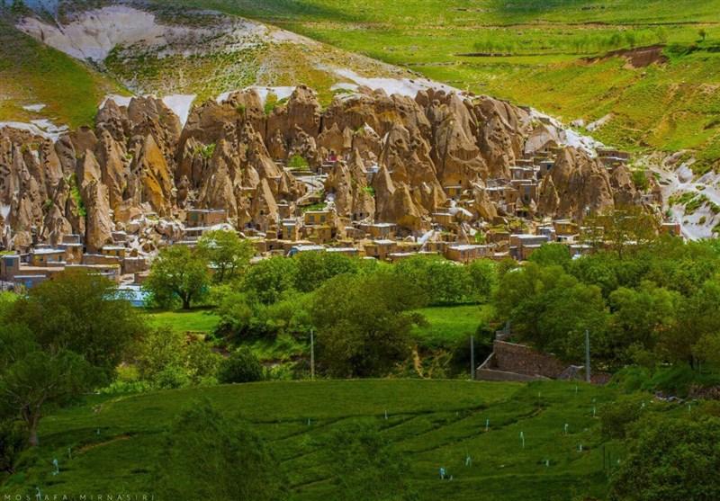 """قریة """"کندوان"""" السیاحیة تحفة فنیة منحوتة بین الصخور + صور"""