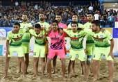 فوتبال ساحلی مقاومت گلساپوش ایران لوآنته اسپانیا