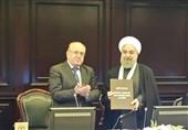 جامعة موسکو الحکومیة تمنح روحانی درجة الدکتوراه الفخریة
