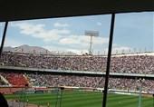 بدء مبارة ایران والصین على ملعب آزادی