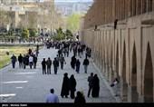 اصفهان| ورود و اقامت 163 هزار و 524 گردشگر در نصفجهان