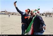 حاشیه دیدار فوتبال ایران و چین