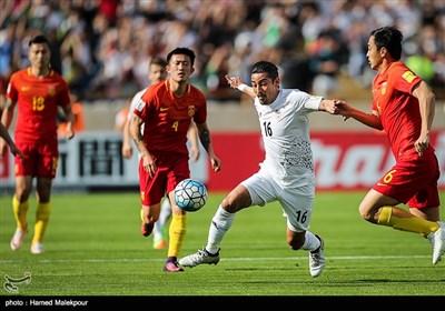 دیدار تیمهای ملی فوتبال ایران و چین - 1