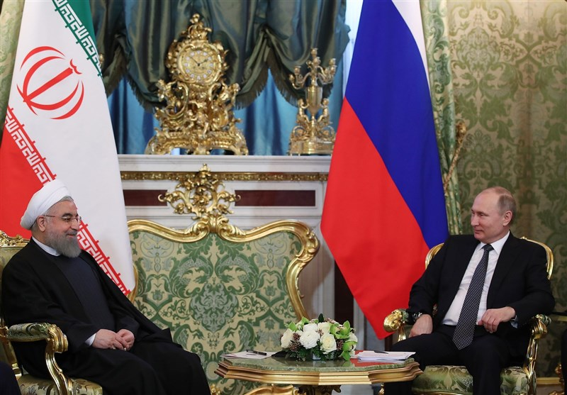 Iran's President: Ties with Russia Serve Regional Stability
