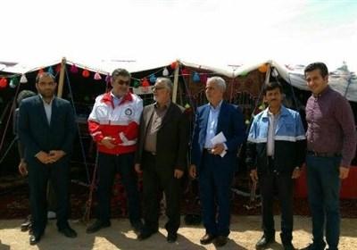 معاون سیاسی و اجتماعی استانداری خراسان جنوبی از کمپهای نوروزی بشرویه بازدید کرد