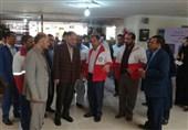 بازدید استاندار سیستان و بلوچستان از روند خدمت رسانی نوروزی