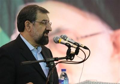 محسن رضایی با مراجع عظام تقلید قم دیدار کرد
