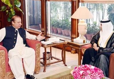 دیدار هیئت عالیرتبه حکام بحرین با نخست وزیر پاکستان
