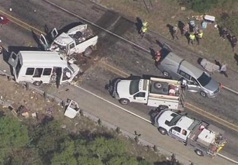 امریکہ ٹریفک حادثہ 7