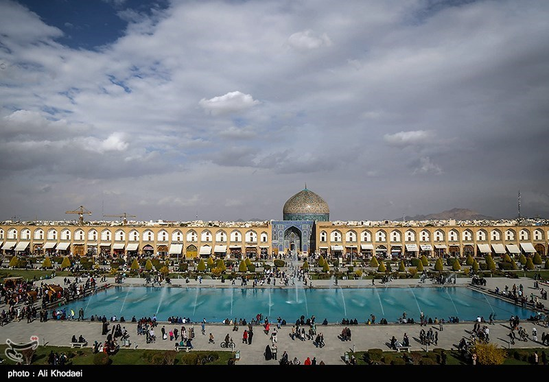 Naghsh-e-Jahan Square: A Huge Rectangular Square in Iran's Isfahan