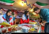 خدماترسانی 27 پایگاه هلال احمر چهارمحال و بختیاری به مسافران نوروزی