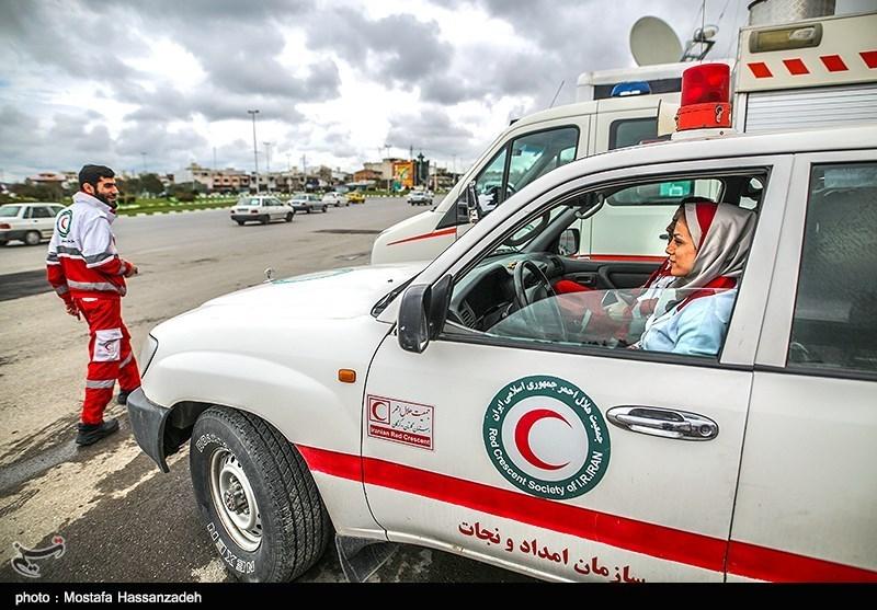 اعزام نیروهای هلال احمر قزوین به کرمانشاه