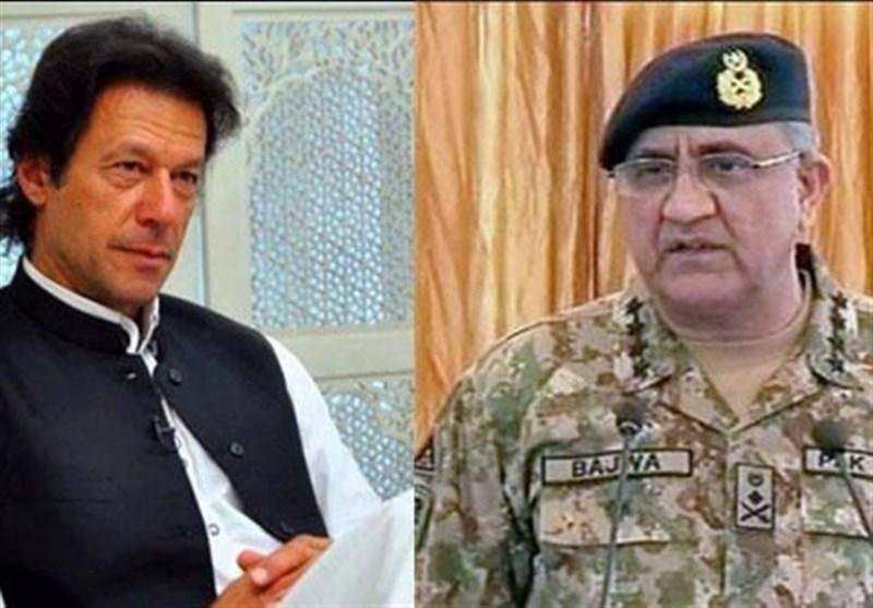 جنرل قمر جاوید باجوہ اور عمران خان کی ملاقات