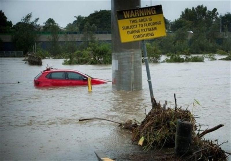 آسٹریلیا میں طوفان کے بعد سیلاب سے تباہی