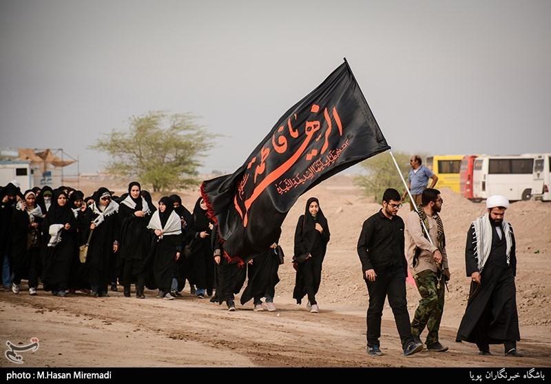 270 دانش آموز دختر اراکی به مناطق عملیاتی 8 سال دفاع مقدس اعزام شدند