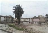 تخریب 2 بنای تاریخی لار در هیاهوی تعطیلات نوروز