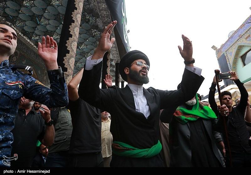 مراسم عزاداری شهادت امام هادی(ع) در سامرا