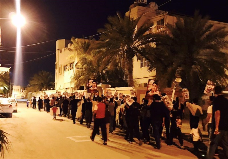 Bahrainis Rally in Support of Yemenis