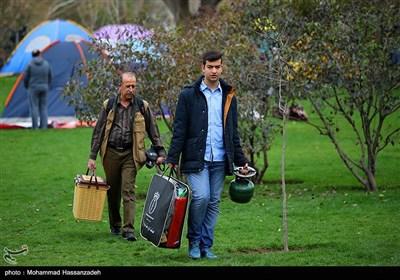 روز طبیعت در پارک ملت