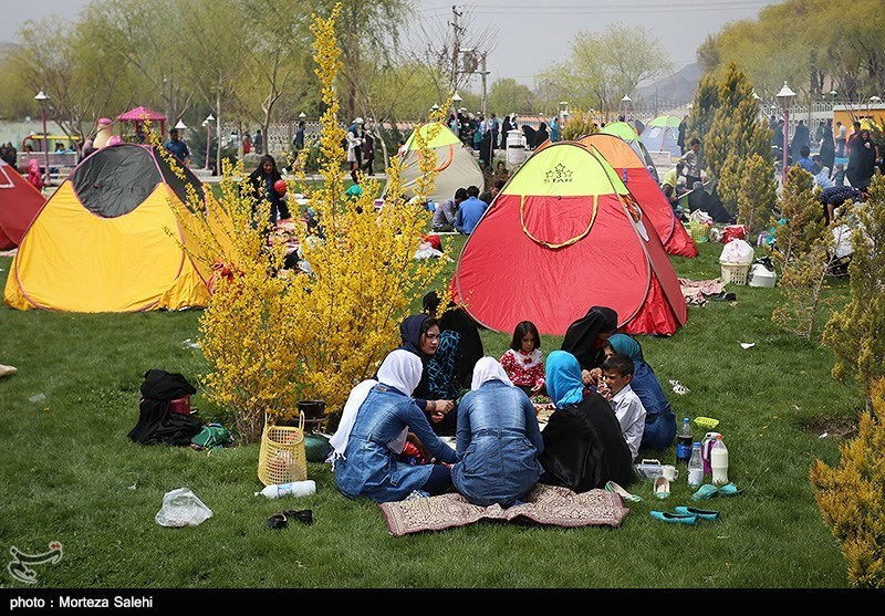 بالصور ... یوم الطبیعة فی ایران