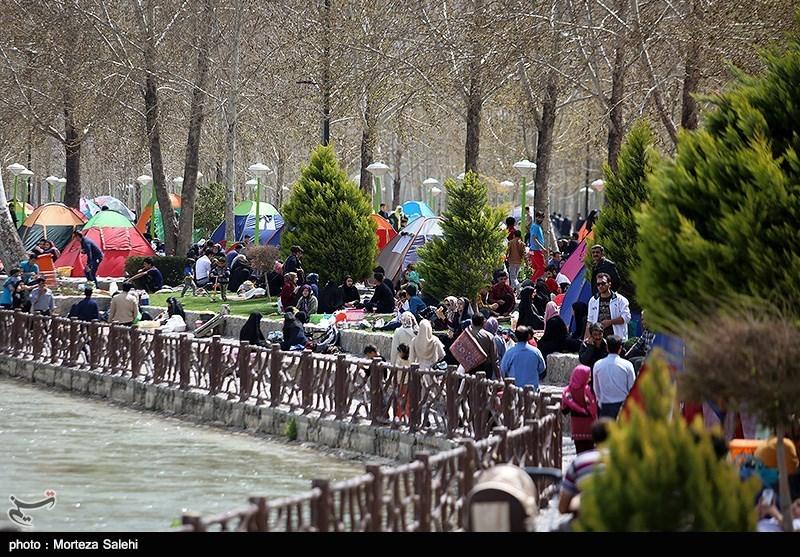 "یوم الطبیعة..ختام أیام عید ""النوروز"" فی ایران+ صور"