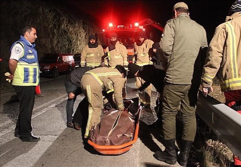 واژگونی «L90» در بزرگراه چمران یک کشته و 2 مجروح برجای گذاشت