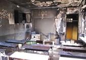 وقوع آتشسوزی در دبستان دخترانه در زاهدان؛ 4 دانش آموز دچار سوختگی شدند