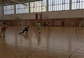 تمرین تیم ملی فوتسال - کرواسی