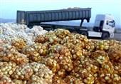 توقیف محموله میلیاردی پیاز قاچاق در ایرانشهر