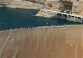 سد دز برای مهار سیلابهای رودخانه دز آماده شد