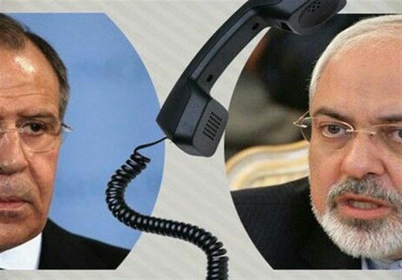 ظریف یبحث مع نظیره الروسی الاتفاق النووی والاوضاع فی سوریا