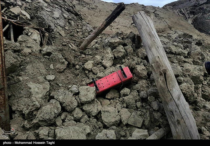 Twin Toddlers Rescued from Rubble of Earthquake in NE Iran