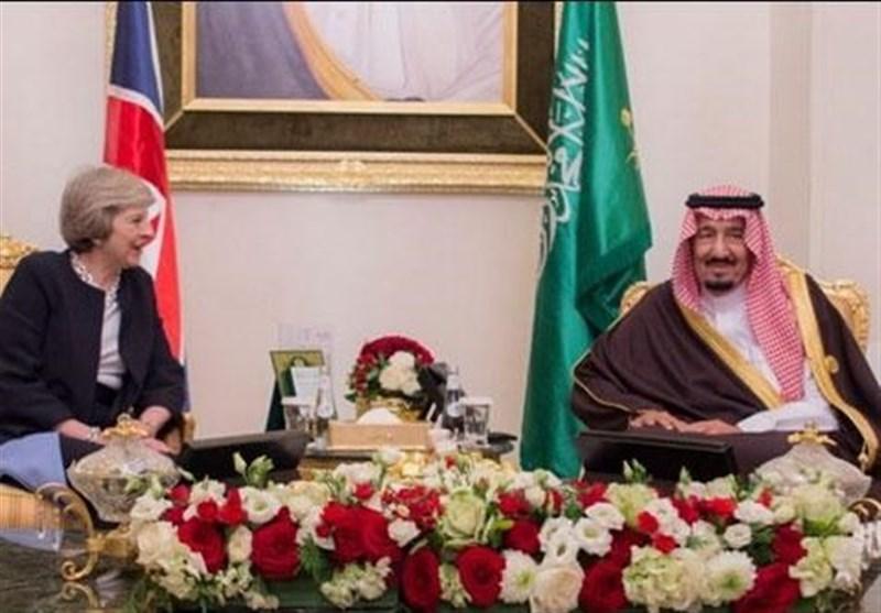 برطانوی وزیراعظم کی شاہ سلمان سے ملاقات + تصاویر