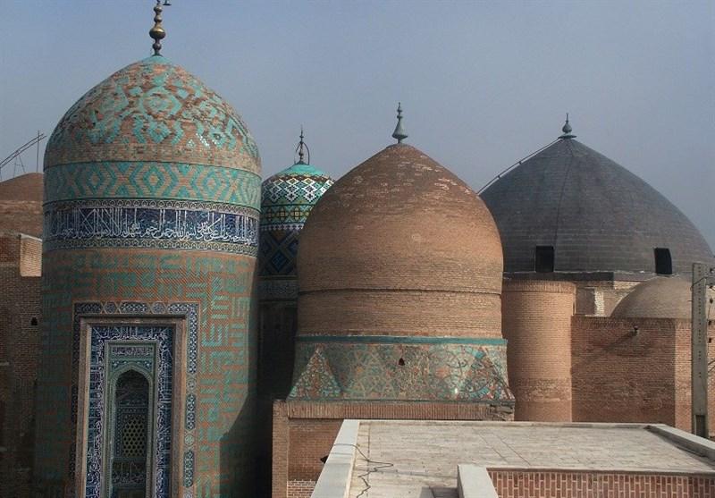 بقعه تاریخی شیخ صفیالدین اردبیلی اوج هنر و معماری ایران+فیلم و تصاویر