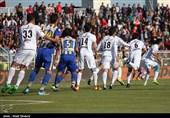 لیگ برتر فوتبال| برتری استقلال مقابل گسترش فولاد در نیمه نخست