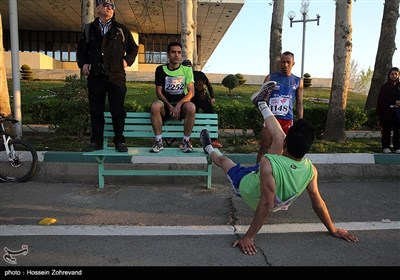 Tehran Hosts First International Marathon
