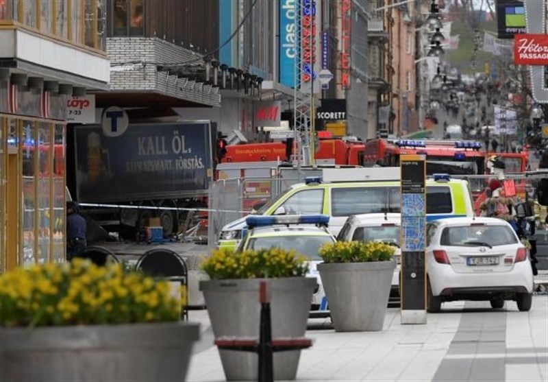 Three Killed as Truck Drives into Crowd in Swedish Capital: Police