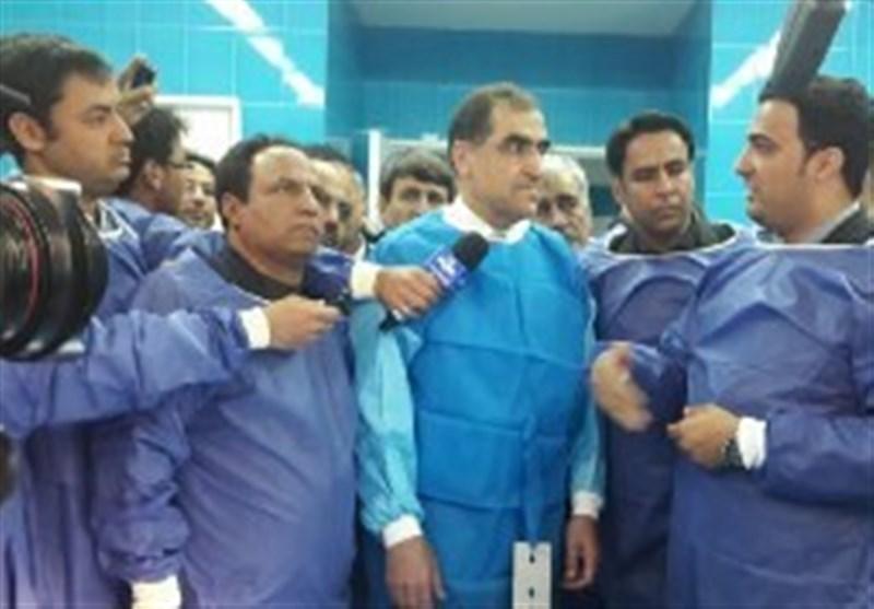 بیمارستان 148 تختخوابی شهرستان فردوس افتتاح شد