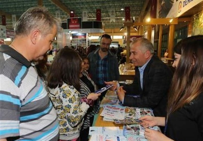 Iran Attends Denizli Book Fair in Turkey