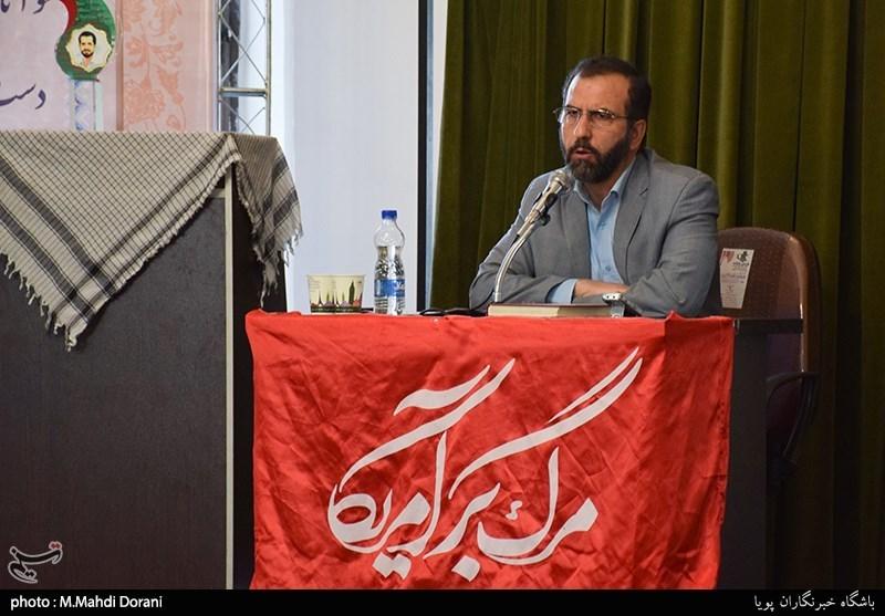سخنرانی حسین آبنیکی معاون سابق سازمان انرژی اتمی