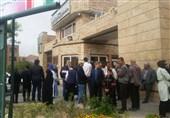 تجمع مالباختگان پروژه آریانا مقابل ساختمان فرمانداری شهرری