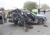 تصادف پژو با کامیون در استان آذربایجان غربی 4 نفر را به کام مرگ فرستاد